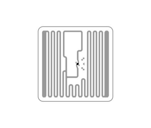 SQUARE - samolepící RFID UHF tag